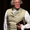 Bill Barker as Thomas Jefferson (Colonial Williamsburg photo)