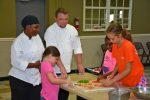 VGCC Culinary students teach kids about cooking